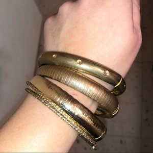 🌼3 for $15🌼 Gold bangles (fashion jewelry)
